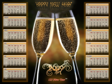 new-years-2009-calendar